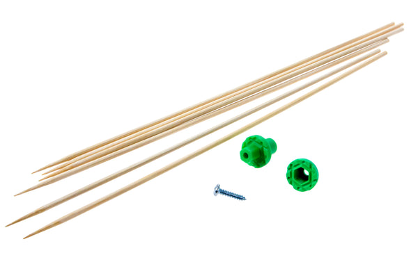 Mini Hub Assembly (Green) - Dowel Mount