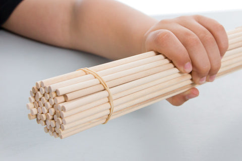 Dowels - 5mm x 300mm (12in) - TeacherGeek