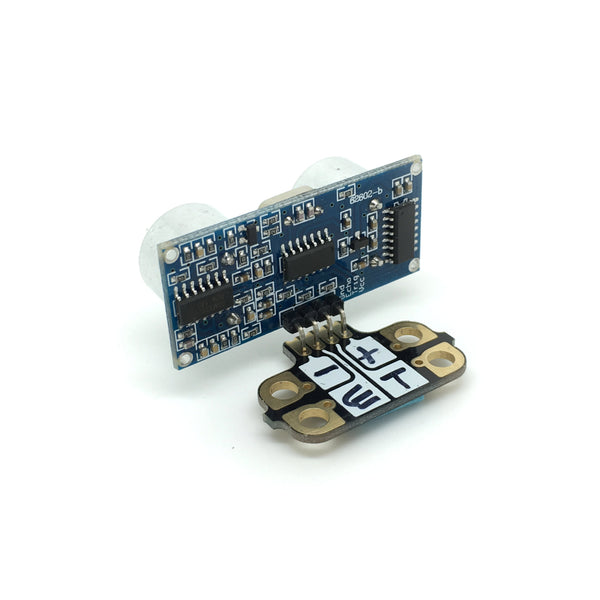 Ultra Sonic Distance Sensing Module (with Crumbliser Attached)