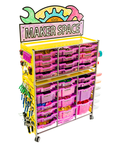 TeacherGeek STEM, STEAM Maker Cart 2.0