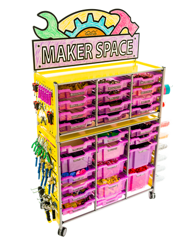 TeacherGeek STEM, STEAM Maker Cart 2.0 - TeacherGeek