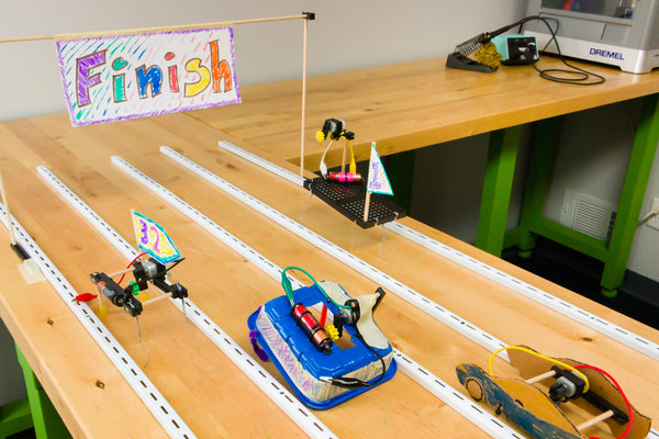 Wiggle-Bots - Doodling, Scribbling, Drawing, Racing Bots - TeacherGeek