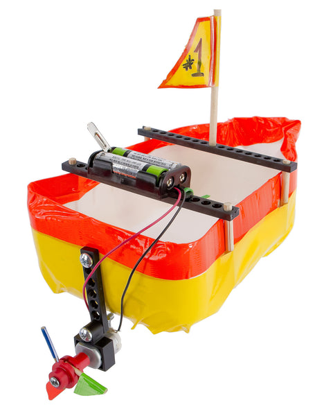 Build-a-Boat / Electric Motor Boat Activity