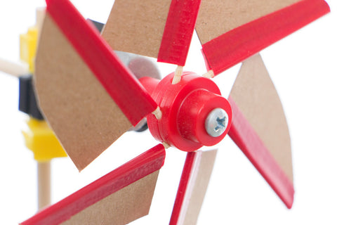 Mini Hub Assembly (Red) - Motor Mount - TeacherGeek