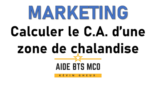#23 Comment calculer le chiffre d'affaires potentiel ? - Cours de MARKETING du BTS MCO