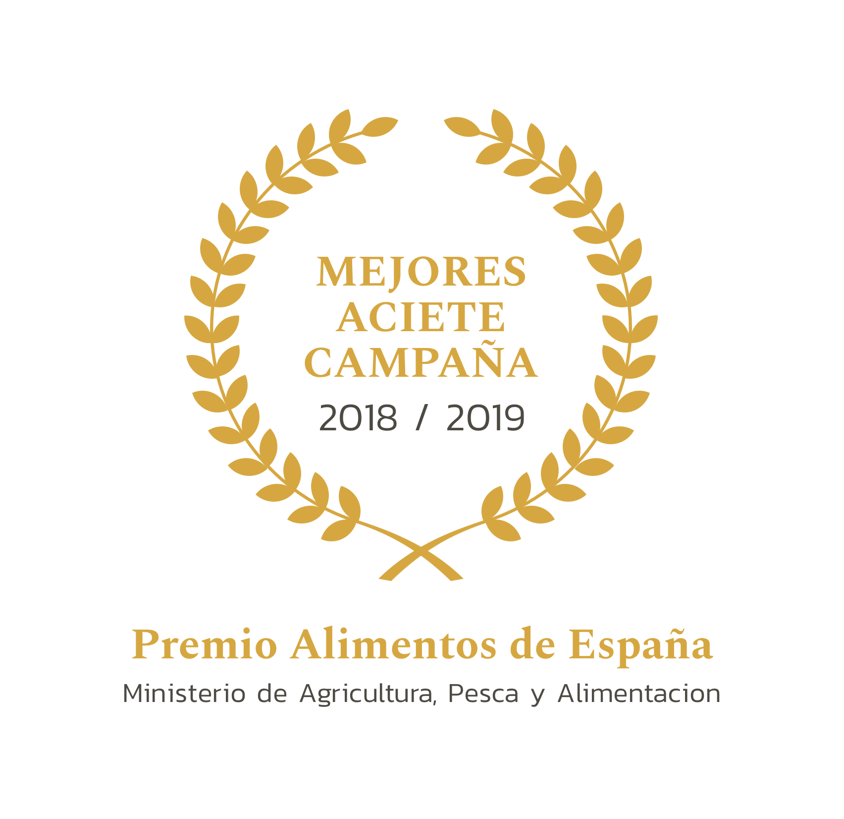 ALIMENTOS DE ESPAÑA Best Olive Campaign Awarded by the Ministry of Agriculture