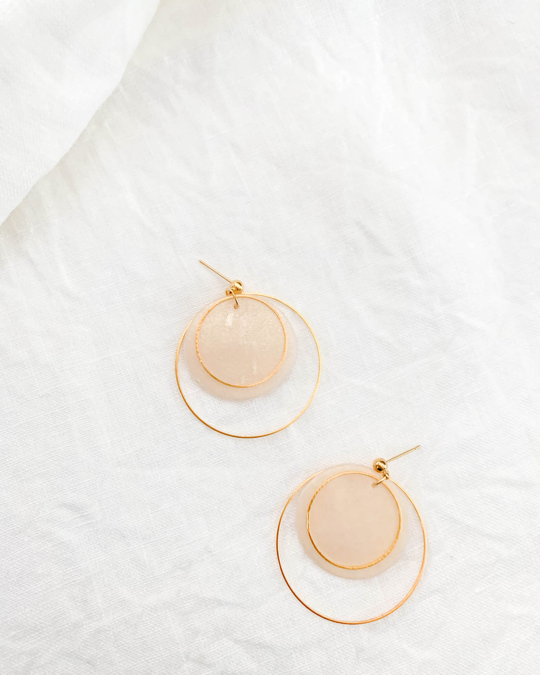 The Layla Earring- Translucent Shimmer