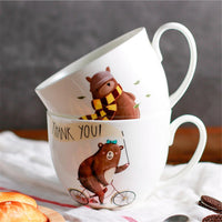 Adorable Bear Jumbo Coffee Mug