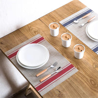 Mix & Match French Striped Placemats