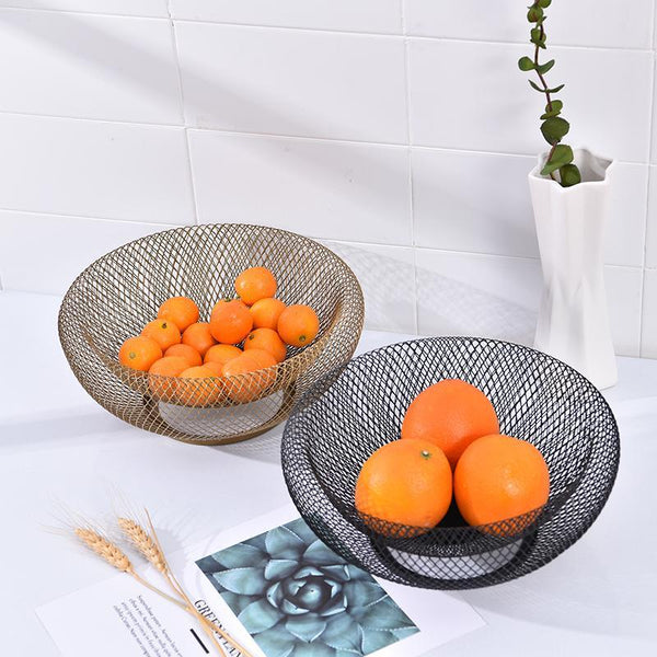 Round Wire Fruit & Bread Basket