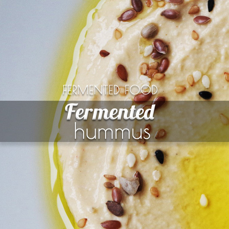 Condiments: Fermented Hummus