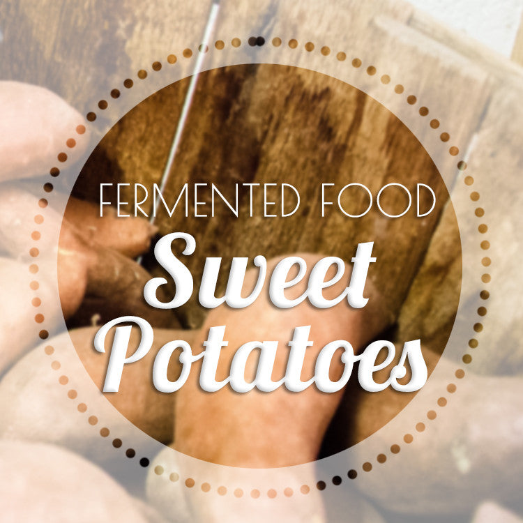 Fermenting Sweet Potatoes by Kirsten & Christopher Shockey