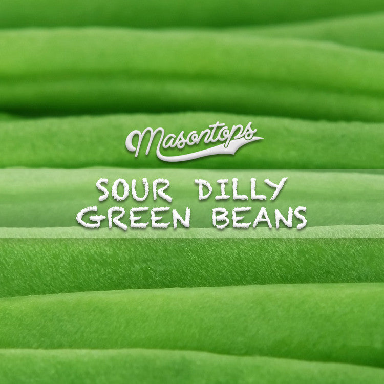 Fermented Sour Dilly Beans