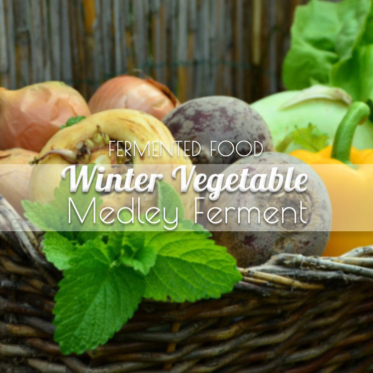 Fermented Winter Vegetable Blend