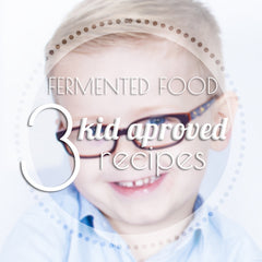 Photo of Young Boy for Fermented Food Blog Post