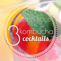 Fresh kombucha cocktails for labour day weekend