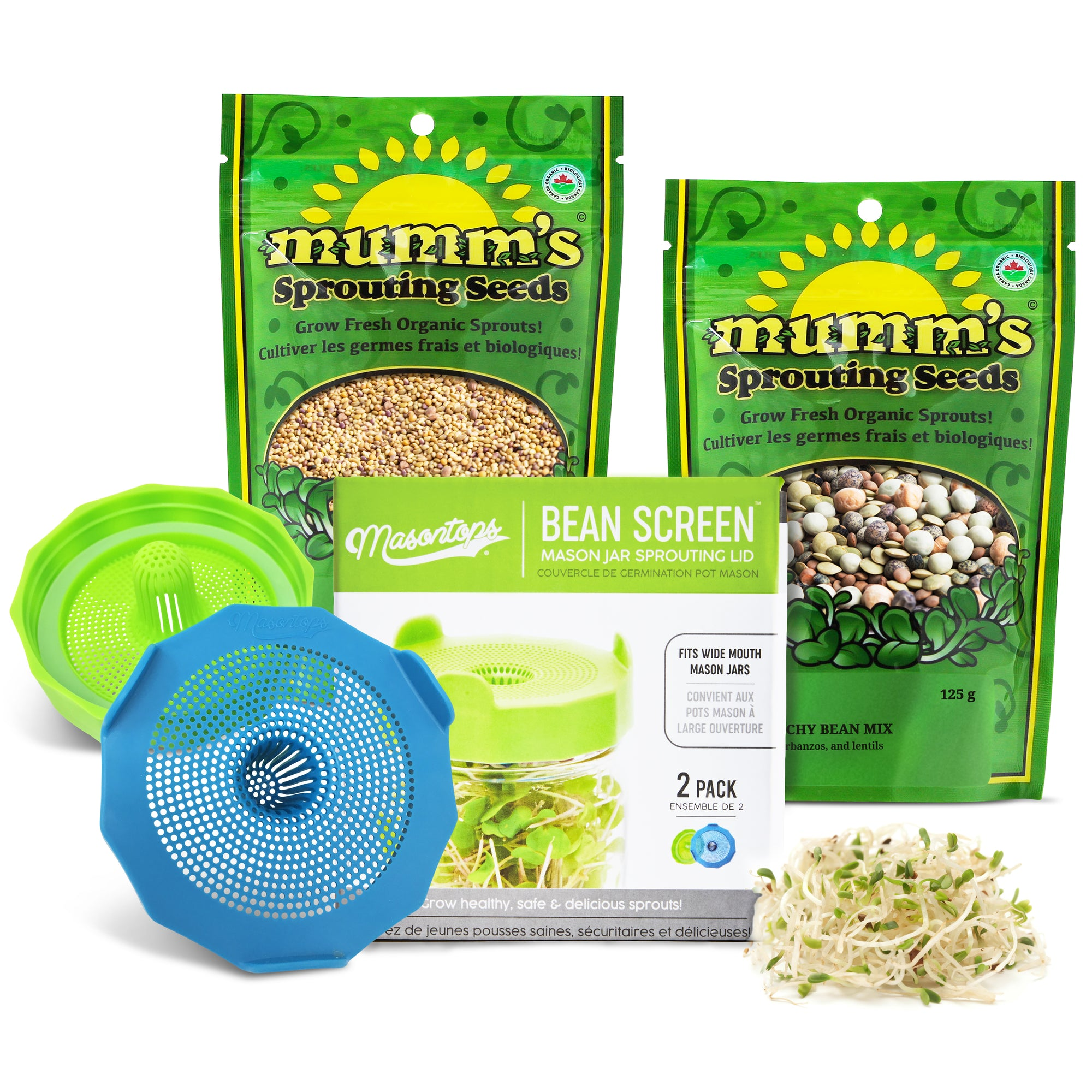 Basic Bean Sprouting Set