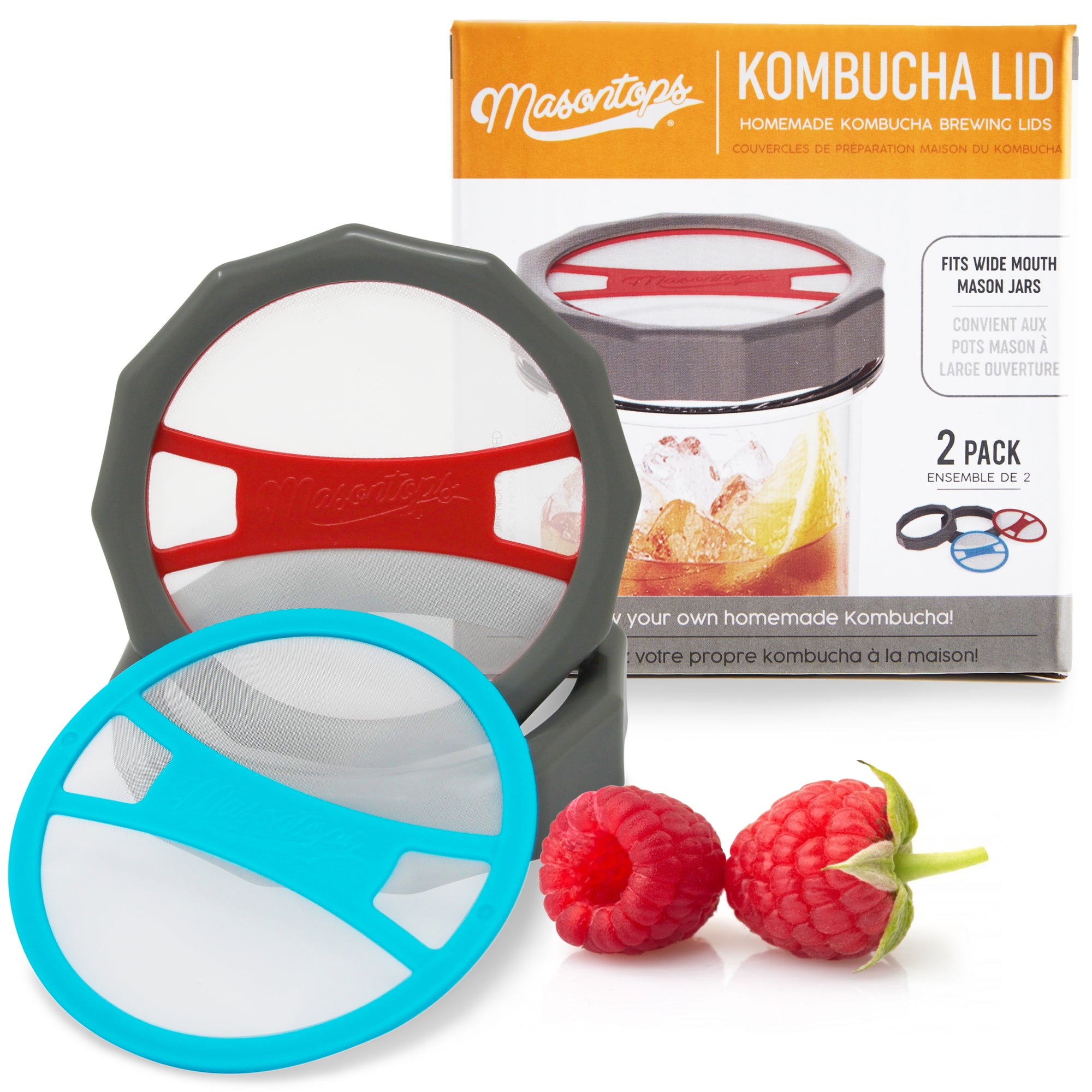 Kombucha Brewing Lids