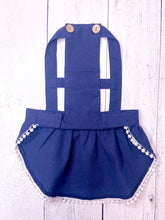 Load image into Gallery viewer, DENIM BIB DRESS by Archie & Winston