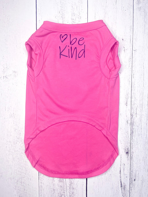 BE KIND PINK Pup Pullover by Archie & Winston