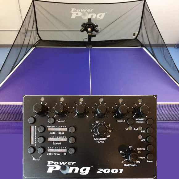 Power Pong 2001 Table Tennis Robot