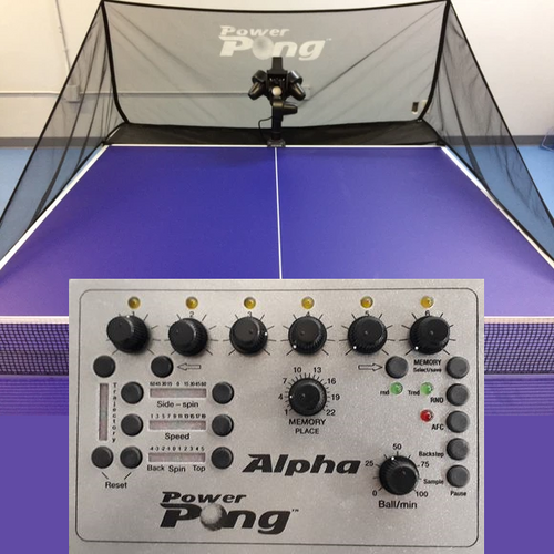 Power Pong Alpha Table Tennis Robot