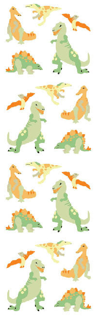 Dinos, micro Stickers - Mrs. Grossman's