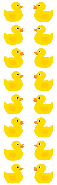 Rubber Ducks Stickers - Mrs. Grossman's