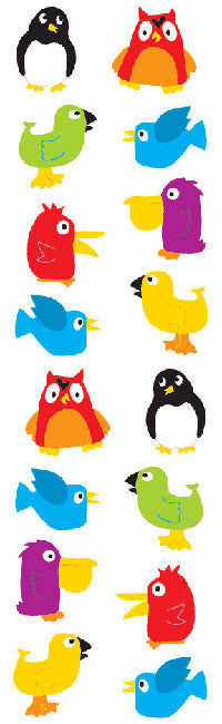 Chubby Birds stickers - Mrs. Grossman's