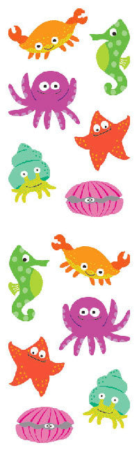 Chubby Sea Life, sticker, Mrs. Grossman's Stickers