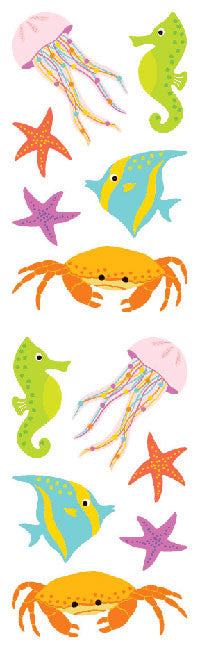 Sea Life, stickers, Mrs. Grossman's Sticker Factory