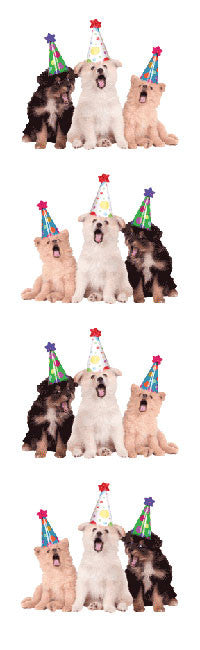 Party Dogs Stickers - Mrs. Grossman's