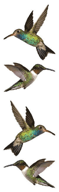 Hummingbirds stickers, Available here, at Mrs. Grossman's online sticker shop!