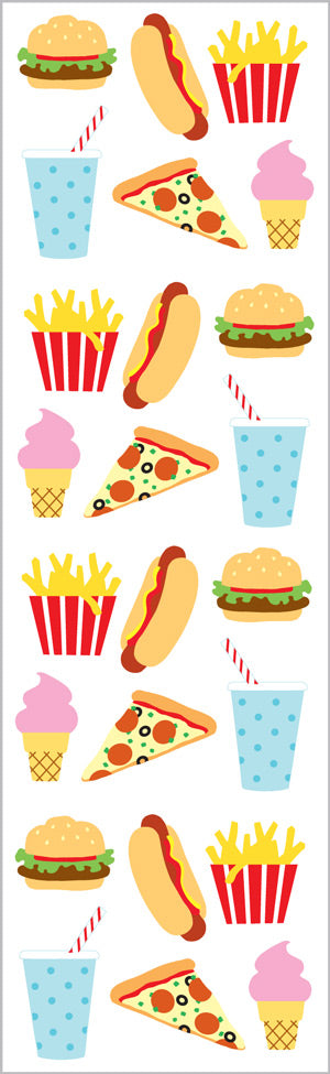 Fast Food Stickers - Mrs. Grossman's