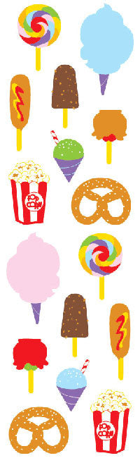 Carnival Food Stickers - Mrs. Grossman's