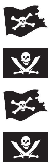 Jolly Rogers Stickers - Mrs. Grossman's