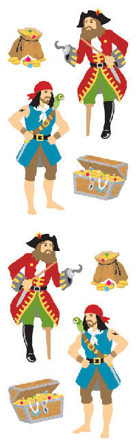 Pirate Crew Stickers - Mrs. Grossman's