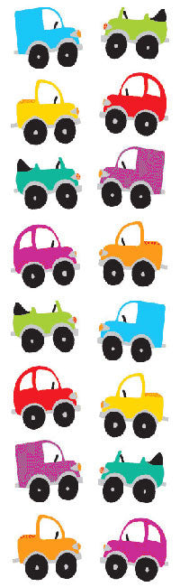 Chubby Cars Stickers - Mrs. Grossman's