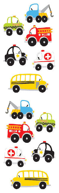 Chubby Work Vehicles Stickers - Mrs. Grossman's