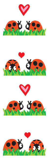 Scene One Lovey Bugs, sticker, Mrs. Grossman's Stickers