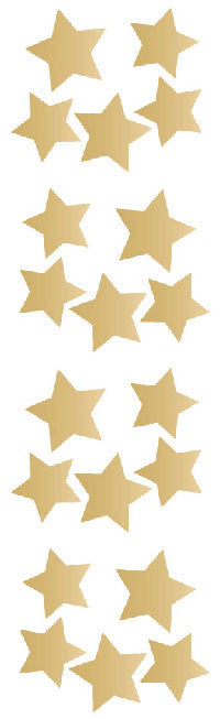 Gold Stars, sticker, Mrs. Grossman's stickers