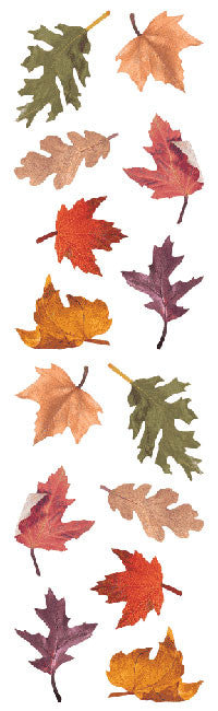 Fall Leaves Stickers - Mrs. Grossman's