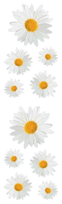 Daisies , sticker, Mrs. Grossman's Stickers