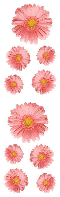 Gerber Daisies Stickers - Mrs. Grossman's