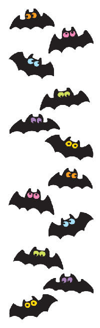 Chubby Bats, sticker, Mrs. Grossman's Stickers