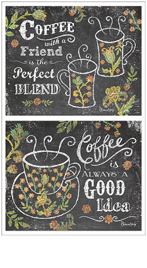 Chalk Talk Coffee Stickers - Mrs. Grossman's