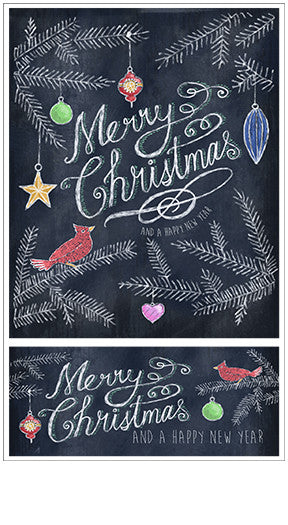 Chalk Talk Merry Christmas Stickers - Mrs. Grossman's