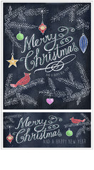 Chalk Talk Merry Christmas