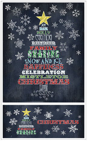 Chalk Talk Holiday Tree Stickers - Mrs. Grossman's