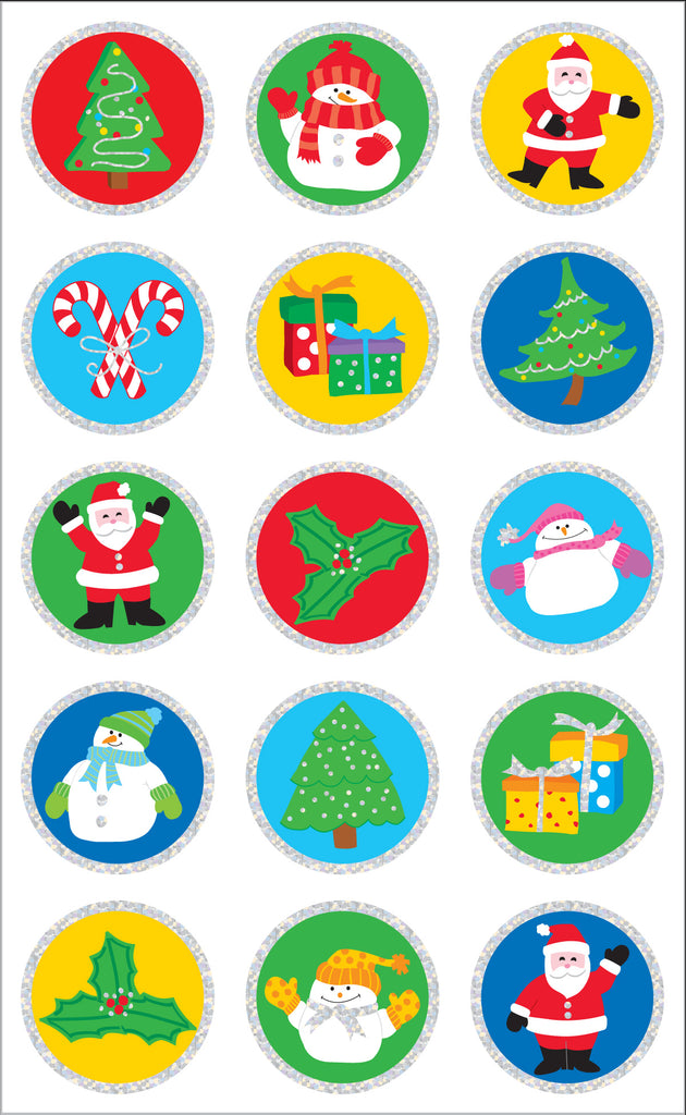 Christmas Seals Stickers